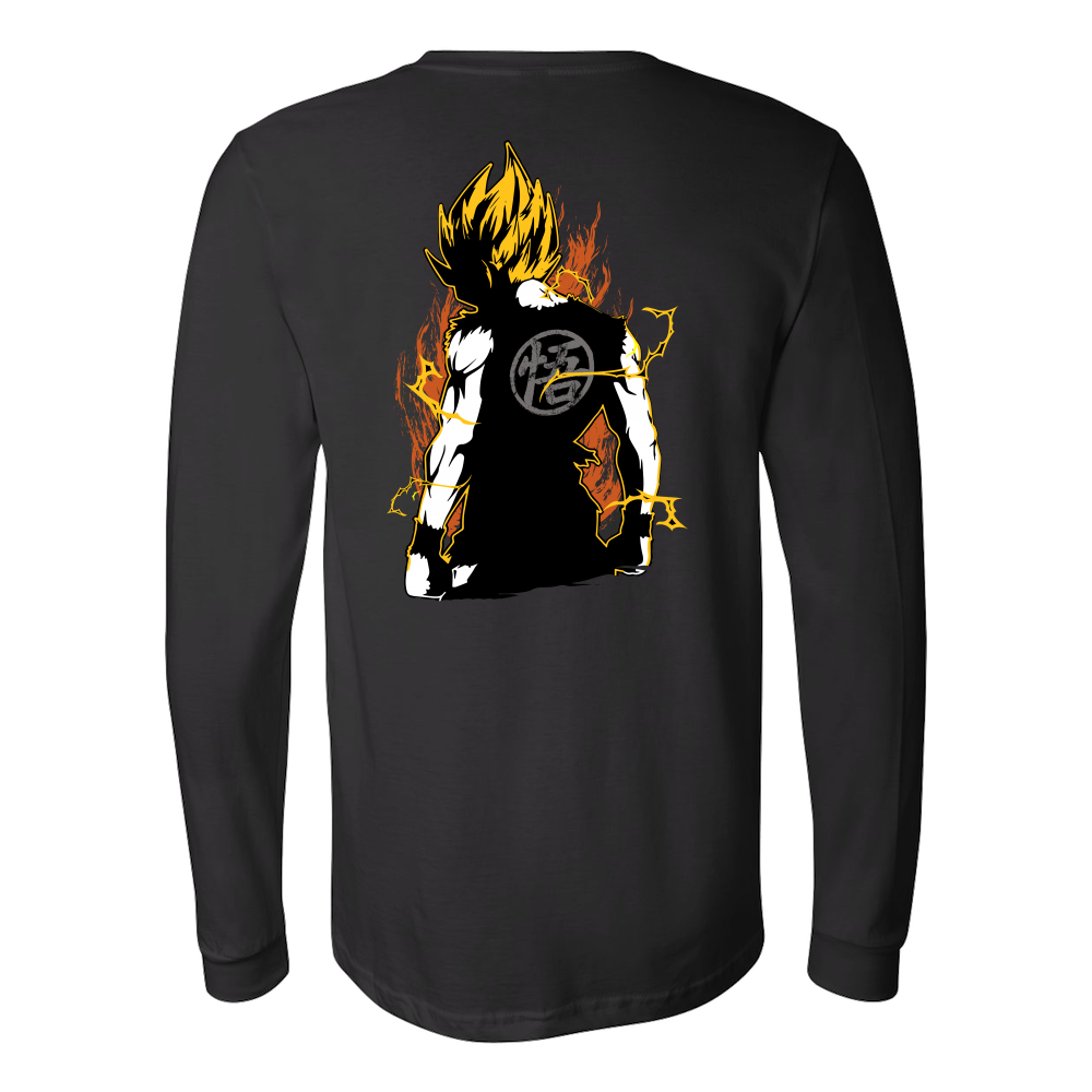 Super Saiyan Goku Long Sleeve T shirt - TL00032LS