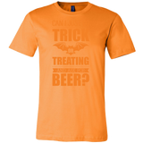 Halloween - Can I Just Go Trick Or Treating And Ask For Beer - Men Short Sleeve T Shirt - TL00798SS