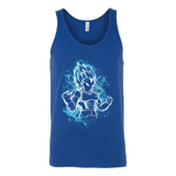 Super Saiyan - Vegeta SSJ Blue - Unisex Tank Top T Shirt - TL00878TT