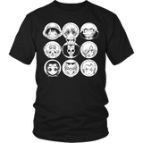 One Piece - Luffy and friends - Men Short Sleeve T Shirt - TL00915SS