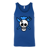 One Piece - Sanji symbol - Unisex Tank Top T Shirt - TL00900TT