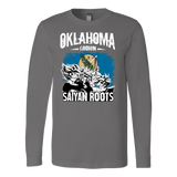 Super Saiyan Oklahoma Grown Saiyan Roots Long Sleeve T shirt - TL00153LS
