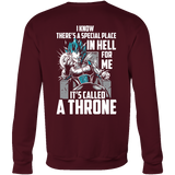Super Saiyan Vegeta God Blue Stay on throne Sweatshirt T shirt - TL00237SW