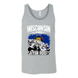 Super Saiyan I May Live in Wisconsin Unisex Tank Top T Shirt - TL00147TT