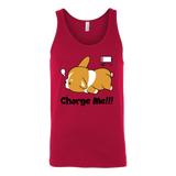 Pet - Immortal Unisex Corgi Cute Puppy Low Battery Funny - Unisex Tank Top T Shirt - TL00825TT
