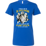 Super Saiyan I May Live in United Kingdom Woman Short Sleeve T Shirt - TL00111WS