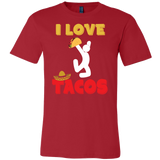 Taco mexican i love tacos Men Short Sleeve Funny T Shirt - TL00590SS