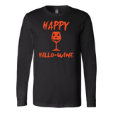 Halloween - Happy hallo wine - Men Long Sleeve T Shirt - TL00716LS