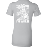 Super Saiyan Broly Monster Woman Short Sleeve T shirt - TL00019WS