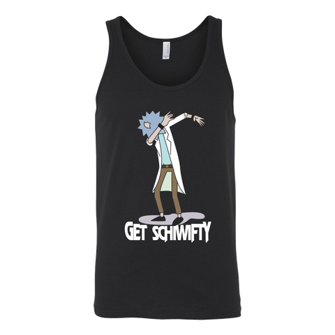 Rick And Morty - Get Schiwifty - Unisex Tank Top T Shirt - TL01262TT