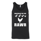 Dinosaur - Evolution Of The T-Rex Rawr - Unisex Tank Top T Shirt - TL00858TT - The TShirt Collection