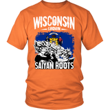 Super Saiyan - I May Live in Wisconsin - Men Short Sleeve T Shirt - TL00147SS