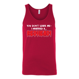 Hobbies - You dont scare me i married a redhead - unisex tank top t shirt - TL00836TT