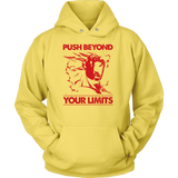 Super saiyan Majin Vegeta push your limits Unisex Hoodie T shirt - TL00226HO
