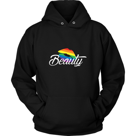Matching Couples T-shirt ,Beauty Gay Lesbian LGBT Shirt - Unisex Hoodie T Shirt - TL01266HO