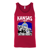 Super Saiyan Kansas Grown Saiyan Roots Unisex Tank Top T Shirt - TL00150TT