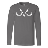 Super Saiyan Long Sleeve T shirt - White Majin Vegeta Buu Symbol - TL00050LS