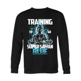 Super Saiyan - Goku Training to go Super Saiyan Blue - Holiday Special Sweatshirt T Shirt - TL00889SW