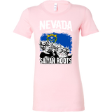 Super Saiyan Nevada Grown Saiyan Roots Woman Short Sleeve T Shirt - TL00155WS