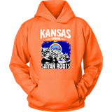 Super Saiyan Kansas Grown Saiyan Roots Unisex Hoodie T shirt - TL00150HO