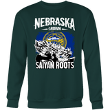 Super Saiyan Nebraska Grown Saiyan Roots Sweatshirt T shirt - TL00166SW