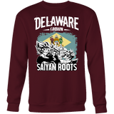 Super Saiyan DELAWARE Grown Saiyan Roots Sweatshirt T shirt - TL00170SW