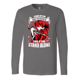 Rurouni Kenshin - Stand Up For What You Believe In - Unisex Long Sleeve T Shirt - Tl01269LS