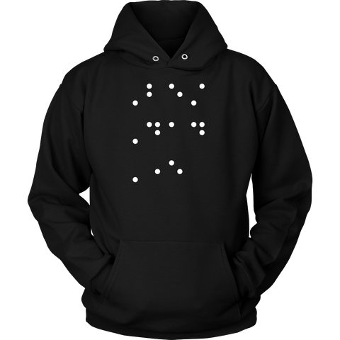 Best Dad Ever in contracted Braille Unisex Hoodie T Shirt - TL00684HO - The TShirt Collection
