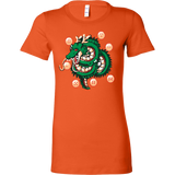 Super Saiyan Shenron with balls Woman Short Sleeve T Shirt - TL00118WS