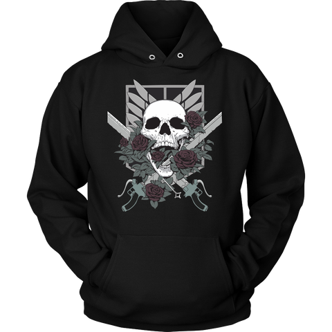 Attack on titan - Attack on Titan - Unisex Hoodie T Shirt - TL01392HO