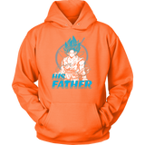 Super Saiyan Goku God Dad Unisex Hoodie T shirt - TL00486HO