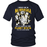 Super Saiyan - Nebraska - Men Short Sleeve T Shirt - TL00095SS