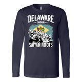 Super Saiyan DELAWARE Grown Saiyan Roots Long Sleeve T shirt - TL00170LS