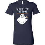 Halloween - im here for the booz - Women Short Sleeve T Shirt - TL00723WS