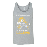 Super Saiyan Bardock Become The Legend Unisex Tank Top T Shirt - TL00564TT
