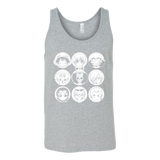 One Piece - Luffy and friends - Unisex Tank Top T Shirt - TL00915TT