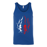 Super Saiyan Vegeta half face Unisex Tank Top T Shirt - TL00231TT