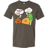 Taco mexican i'm feeling really crappy today Men Short Sleeve Funny T Shirt - TL00568SS