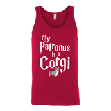 Pet - My Patronus Is A Corgi - Unisex Tank Top T Shirt - TL00826TT