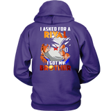 Super saiyan  - I asked for rival i got my brother - Unisex Hoodie - TL01378HO