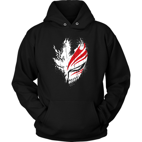 Bleach - Ichigo Mask -Unisex Hoodie t shirt - TL00856HO - The TShirt Collection