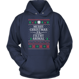 Christmas Hoodie - Merry Christmas Ya Filthy Animal - Unisex Hoodie T Shirt - TL01003HO