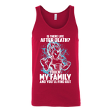 Super Saiyan - Vegeta God Blue protect family - Unisex Tanktop - TL00886TT