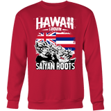 Super Saiyan Sweatshirt T shirt - FOR HAWAII FANS - TL00165SW