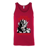 Super Saiyan Majin Vegeta Push Limits Unisex Tank Top T Shirt -TL00228TT