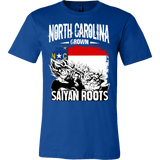 Super Saiyan North Carolina Grown Saiyan Roots Men Short Sleeve T Shirt - TL00149SS