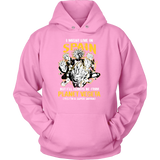 Super Saiyan I May Live in Spain Unisex Hoodie T shirt - TL00112HO