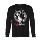 Super Saiyan Vegeta V vendetta Men Sweatshirt T Shirt - TL00543SW