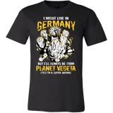 Super Saiyan I May Live In Germany Men Short Sleeve T Shirt - TL00113SS