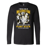 Super Saiyan Washington Long Sleeve T shirt - TL00070LS